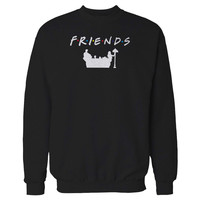 F.R.I.E.N.D.S Pullover Graphic Friends Tv Show Gift Movie Grilfriend Gift Sweatshirt