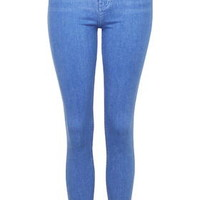 MOTO Bright Blue Jamie Jeans - Bright Blue