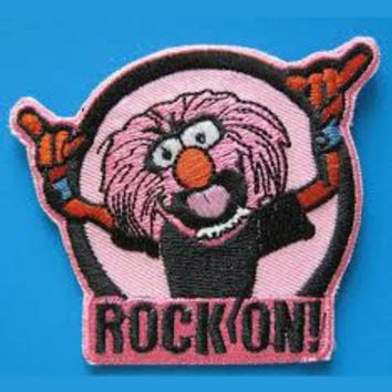 Muppets Animal Rock On Patch