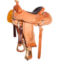 NRS Competitor's Series 3/4 Team Roping Saddle
