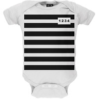 Prisoner Costume Baby One Piece
