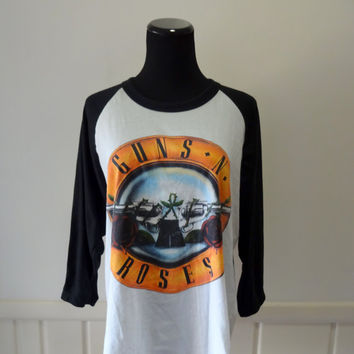 Vintage Guns N Roses Band T-Shirt 1991