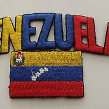 Bandera Venezuela Flag Patch