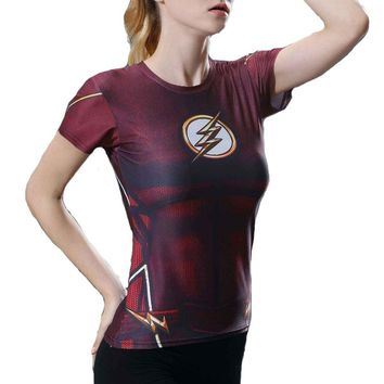 DC Superheroes Compression Shirt
