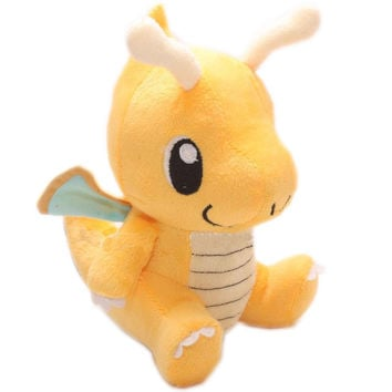 Pokemon Go Pocket Monster Dragonite Plush Toy