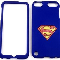 Superman Snap on Case Cover Faceplate Protector for Apple Ipod Touch 5 5th Generation