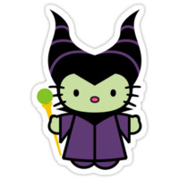 Hello Kitty - Maleficent