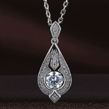 Pristine Pharoah Swarovski Crystal Necklace