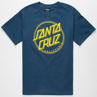 Santa Cruz Sc Cali Mens T-Shirt Navy  In Sizes