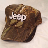 Jeep Baseball Cap Hat Camo Camouflage. New!