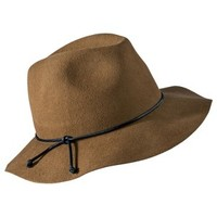 Mossimo Supply Co. Floppy Leather Tie Hat - Tan