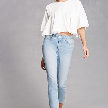 Flutter Crop Top