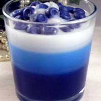 Scented Blueberry Parfait Candle
