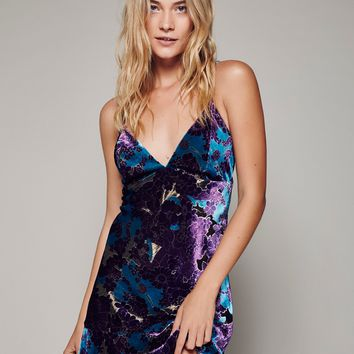 Free People Burnout Slip Dress