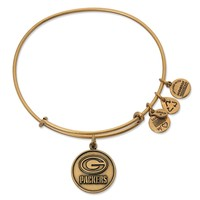 Green Bay Packers Logo Charm Bangle