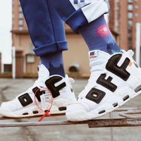 Off-White x Nike Air More Uptempo Men Sneaker