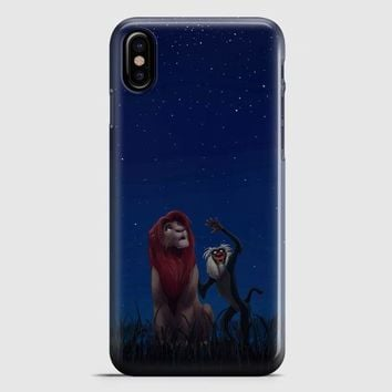 Lion King Remember Who You Are iPhone X Case | casescraft
