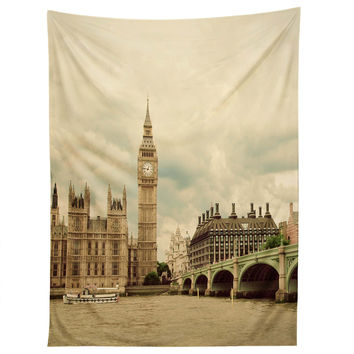 Happee Monkee Big Ben Tapestry