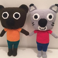 Handmade Soft Toys - Brighton UK. Amigurumi Crochet. by AnthonyBrighton