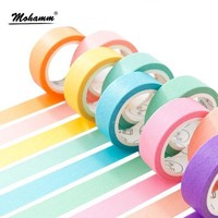 ONETOW 24 Style Creative Solid Color Washi Tape