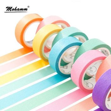 DCCKU7Q 24 Style Creative Solid Color Washi Tape
