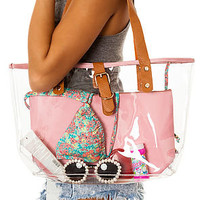 *MKL Accessories The Katie Tote in Translucent Dream : Karmaloop.com - Global Concrete Culture