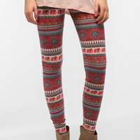 Urban Outfitters - BDG Vintage Peacock High Rise Legging