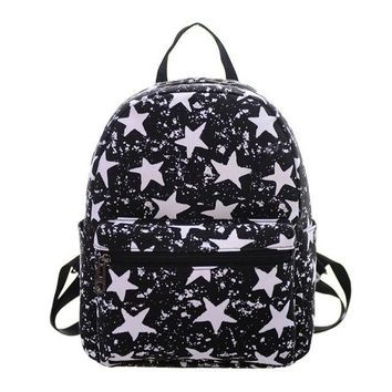 Student Backpack Children Aelicy Classic Vintage Printing Junior School Backpack Retro Generous Simple Small Student School Bag for Teenage Girl Boy AT_49_3