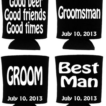 Groomsmen Koozies, Bachelor Party Favors, Groomsmen Gifts