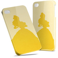 Belle Beauty and The Beast Disney - Hard Cover Case iPhone 5 4 4S 3 3GS HTC Samsung Galaxy Motorola Droid Blackberry LG Sony Xperia & more