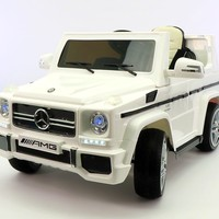Mercedes G65 AMG 12V Kids Ride-On Car with Parental Remote | White