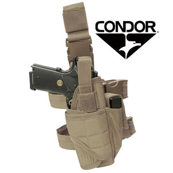 Tornado Tactical Leg Holster Color- Tan