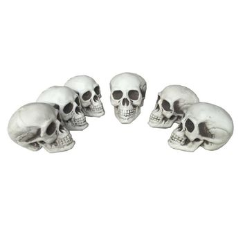 Small  Skull      Plastic  Halloween  Props  Grave  Yards