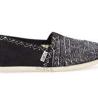 Black Alcius Tonal Pattern Haiti Artist Collective Women's Classics US