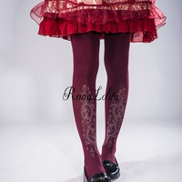 Reina Lolita -Dragon Rising- Lolita Tights