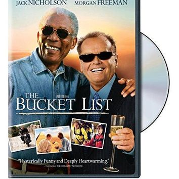 The Bucket List (DVD / WS / SP-ENG-FR-SUB) Jack Nicholson, Morgan Freeman, Sean Hayes, Beverly Todd, Rob Morrow