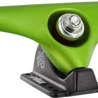 "Gullwing Charger 10.0"" Lime/Black Longboard Trucks"