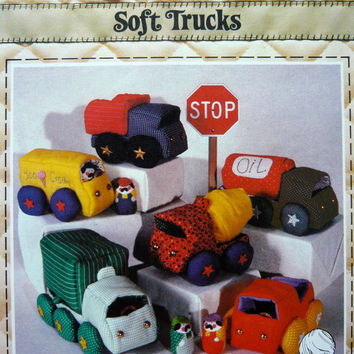 Soft Truck Pattern by Patch Press Sewing Pattern Vintage Uncut Like New Easy to Follow Instructions