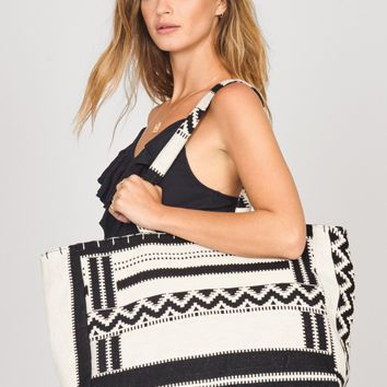 AMUSE SOCIETY | Pack It Up Tote - Black