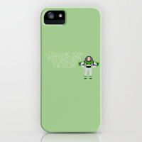 I could be your Buzz Lightyear... Justin Bieber iPhone Case by Leigh / losinghimwasblue   Society6