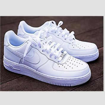 NIKE Women Men Running Sport Casual Shoes Sneakers Air force high tops and Low tops shoes HIGH QUALITY-1