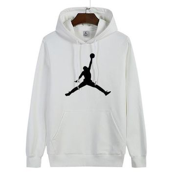 Nike Jordan Women Man Fashion Print Sport Casual Top Sweater Pullover Hoodie-2