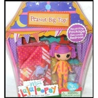 "Mini Lalaloopsy PEANUT BIG TOP ""Sleepy Series"""