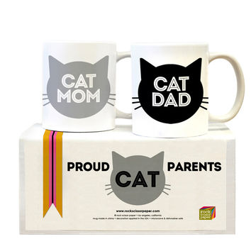So into this design on Fab! Cat Parents Mug Set #FabForAll