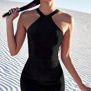 Tam Cut Out Bandage Dress