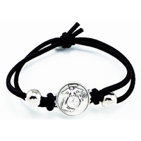 United States Marine Corps Logo Adjustable Bracelet