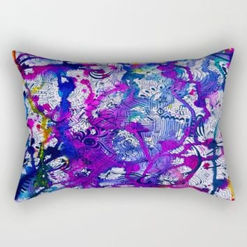 Love Within (color splash) Rectangular Pillow by Ducky B