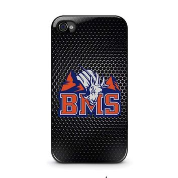 bms blue mountain state iphone 4 4s case cover  number 1