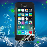 2016 Hot selling Waterproof Shockproof Dirt Proof Protection Case Cover For iPhone 6 4.7'' Promotion!