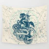 Perseus Wall Tapestry by Pato